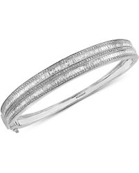 Effy Collection - Diamond Bangle Bracelet (2-1/3 Ct. T.w.) In 14k White Gold - Lyst