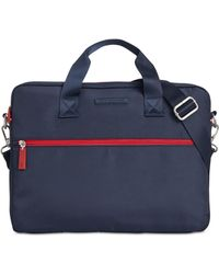 d0f8d1f09a1 Tommy Hilfiger Felix Briefcase in Blue for Men - Lyst