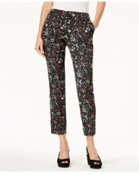 Marella - Elisa Floral Jacquard Pants - Lyst