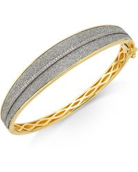 Macy's - Diamond Glitter Bracelet (1/3 Ct. T.w.) In 18k Gold-plated Sterling Silver - Lyst