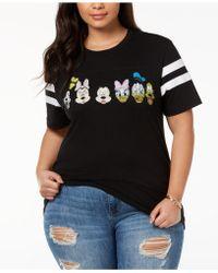 Disney - Plus Size Cotton T-shirt - Lyst