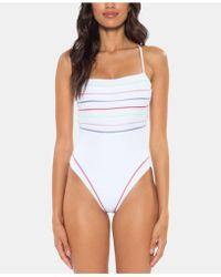 SOLUNA - Total Eclipse High-leg One-piece Swimsuit - Lyst