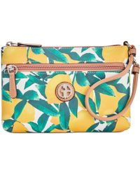 Giani Bernini - Saffiano Lemon Wristlet, Created For Macy's - Lyst