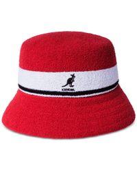 Kangol - Striped Bucket Hat - Lyst