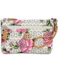 Giani Bernini - Block Signature Floral Wristlet, Created For Macy's - Lyst