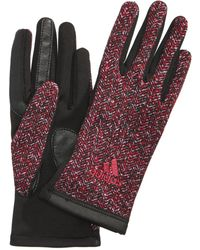 adidas - Women's Performance Tone Touch Gloves - Lyst