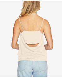 1.STATE - Draped-back Tank Top - Lyst