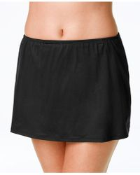 24th & Ocean - Swim Skirt With Tummy Control - Lyst