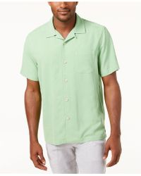 Tommy Bahama - Weekend Tropics Silk Shirt, Created For Macy's - Lyst