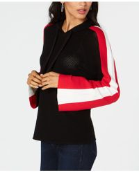 INC International Concepts - I.n.c. Perforated Colorblocked-sleeve Hoodie, Created For Macy's - Lyst