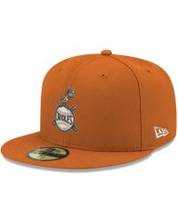 huge selection of 74634 e16d5 KTZ Baltimore Orioles Players Weekend Low Profile 59fifty Fitted Cap in  Orange for Men - Lyst