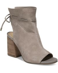 Franco Sarto - Fenwick Peep-toe Shooties - Lyst