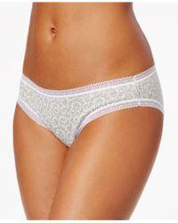 Charter Club - Modern Essentials Lace-trim Bikini - Lyst