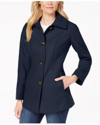 London Fog - Single-breasted Peacoat - Lyst