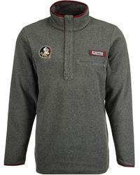 Columbia - Florida State Seminoles Harborside Fleece Pullover - Lyst