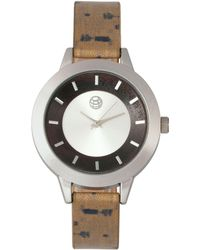 Earth Wood - Autumn Watch Silver/brown 38mm - Lyst