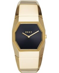 DKNY - Beekman Gold-tone Stainless Steel Bangle Bracelet Watch 32mm, Created For Macy's - Lyst