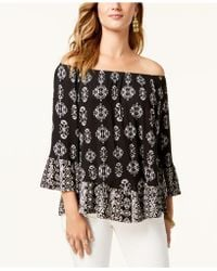 ecd2e72750bc5 Lyst - American Rag Trendy Plus Size Ruffled Off-the-shoulder Top in ...