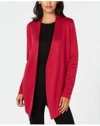 Eileen Fisher - ® Angle-front Cardigan - Lyst