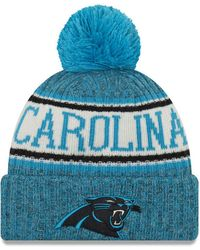 300a4a97 Carolina Panthers Sport Knit Hat