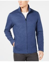 Alfani - Textured Zip-front Jacket, Created For Macy's - Lyst