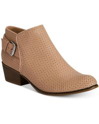 Esprit - Talia Perforated Ankle Booties - Lyst