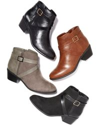 Karen Scott - Falonn Ankle Booties, Created For Macy's - Lyst