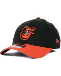 buy popular 3d6b5 55a07 KTZ - Baltimore Orioles Mlb Team Classic 39thirty Cap - Lyst