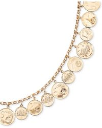 Macy's - Euro Coin Charm Bracelet In 14k Gold Vermeil - Lyst
