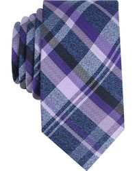 Perry Ellis - Men's Twine Plaid Silk Tie - Lyst