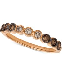 Le Vian - Diamond Band (3/8 Ct. T.w.) In 14k Rose Gold - Lyst