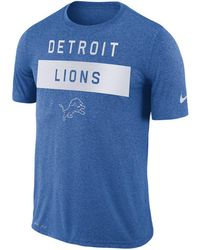 508bb121f84b Lyst - Nike Men s Detroit Lions Breast Cancer Awareness Legend T ...