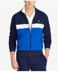 Polo Ralph Lauren - Interlock Track Jacket - Lyst