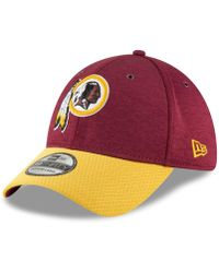 hot sale online 2e0c3 9e890 KTZ Washington Redskins State Flective Redux 59fifty Cap in Red for Men -  Lyst