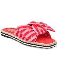 1a403a58082e Lyst - Kate Spade Caliana Slide Sandals - Save 30%