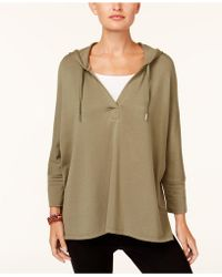 Style & Co. - Oversized Dolman-sleeve Hoodie, Created For Macy's - Lyst