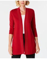 Kasper - Cardigan Sweater Jacket - Lyst