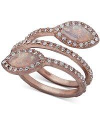 Lonna & Lilly - Pavé & Stone Spiral Ring - Lyst