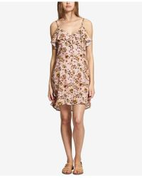 Sanctuary - Rafaella Floral-print Ruffled Dress - Lyst