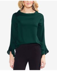 Vince Camuto - Flutter-cuff Top - Lyst