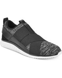 Cole Haan - Studiøgrand Cross-strap Knit Trainer Sneakers - Lyst