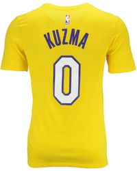 Nike - Kyle Kuzma Los Angeles Lakers Icon Player T-shirt - Lyst