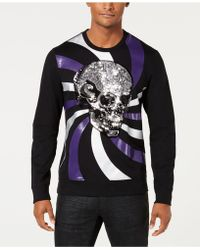 INC International Concepts - Long-sleeve Skull Graphic T-shirt, Created For Macy's - Lyst