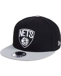 sports shoes 9fe14 b4dbb KTZ Brooklyn Nets Overspray 9fifty Snapback Cap for Men - Lyst