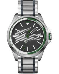 Lacoste - Capbreton Stainless Steel Bracelet Watch 46mm - Lyst