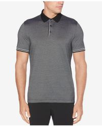 Perry Ellis - Classic Fit Striped Polo - Lyst