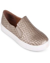 Wanted - Slip On Trainer With Woven Upper - Lyst