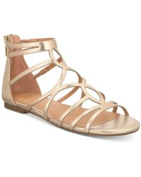 Material Girl - Sira Sandals, Created For Macy's - Lyst