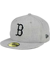 Lyst - KTZ Boston Red Sox Ton-wool 59fifty Cap in Red for Men 1459504dc93a