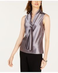 Nine West - Tie-neck Sleeveless Camisole - Lyst